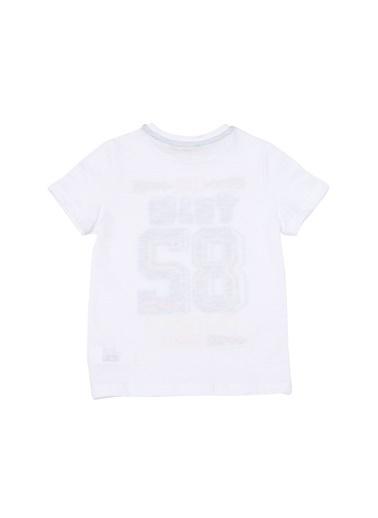 Limon Company Limon Sayı Baskılı T-Shirt Beyaz